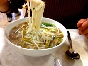 Beef Pho at Pho Tau Bay