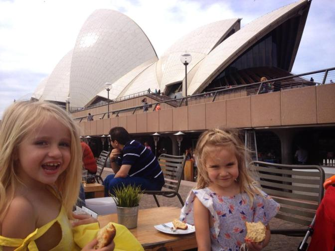 A Day as Tourists in Circular Quay